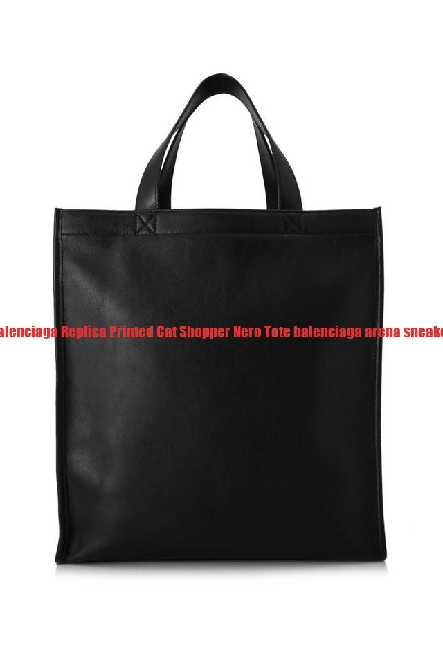 393666133433 The Best Balenciaga Replica Printed Cat Shopper Nero Tote balenciaga arena  sneakers for sale